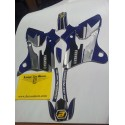 Serie adesivi completa BLACKBIRD Yamaha WR  250 / 450 dal 2003 al 2004