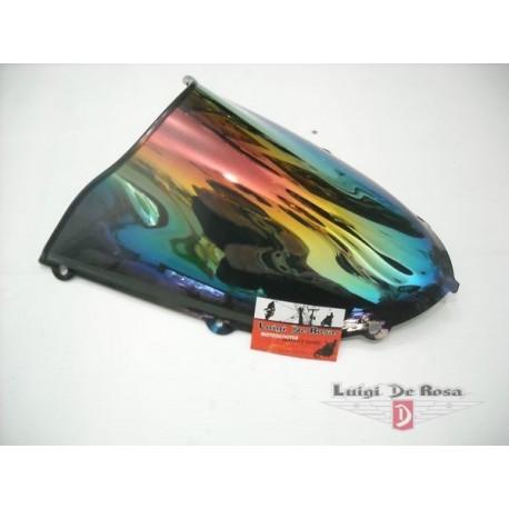Plexiglass cupolino Kawasaki Ninja ZX10R/RR 1000 anni  2004/2005 iridium multicolor (specchiato)