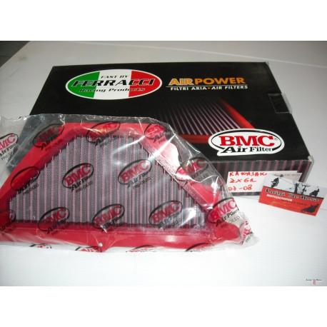 Filtro BMC  Kawasaki ZX6R / 636 / Ninja   07/08