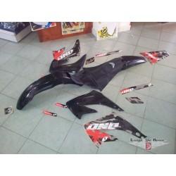 KIT plastiche nere + adesivi Honda CR 125 /250 00/07