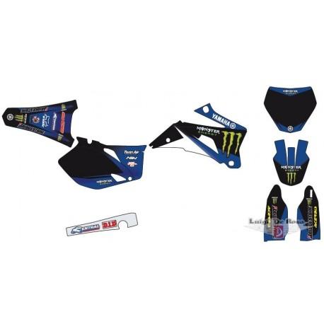 Serie adesivi completa MONSTER Yamaha YZF  250 / 450 dal 2006 al 2009